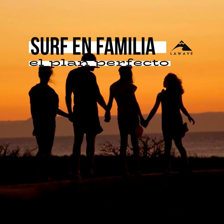 surf en familia