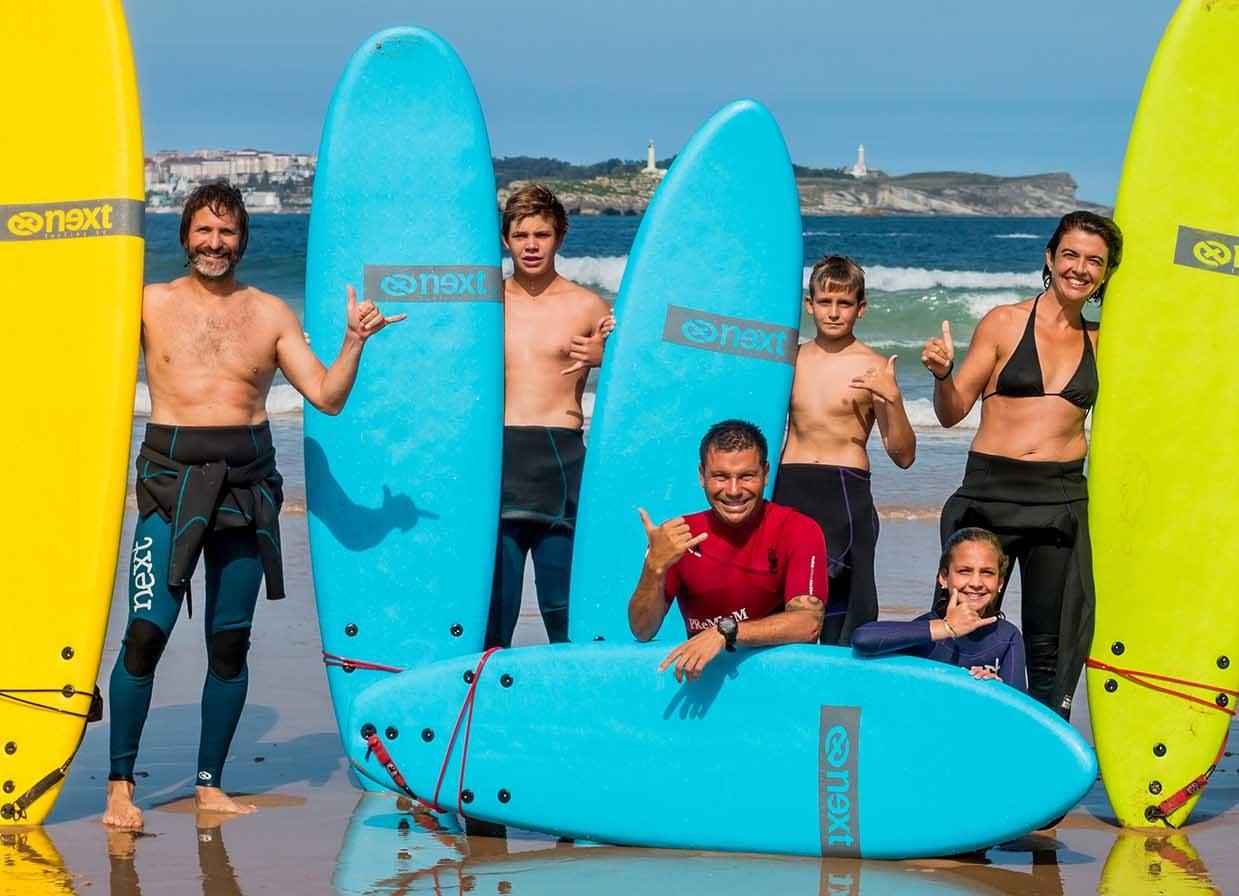 Surf School Cantabria La Wave Surf Co Playa de Somo y Loredo