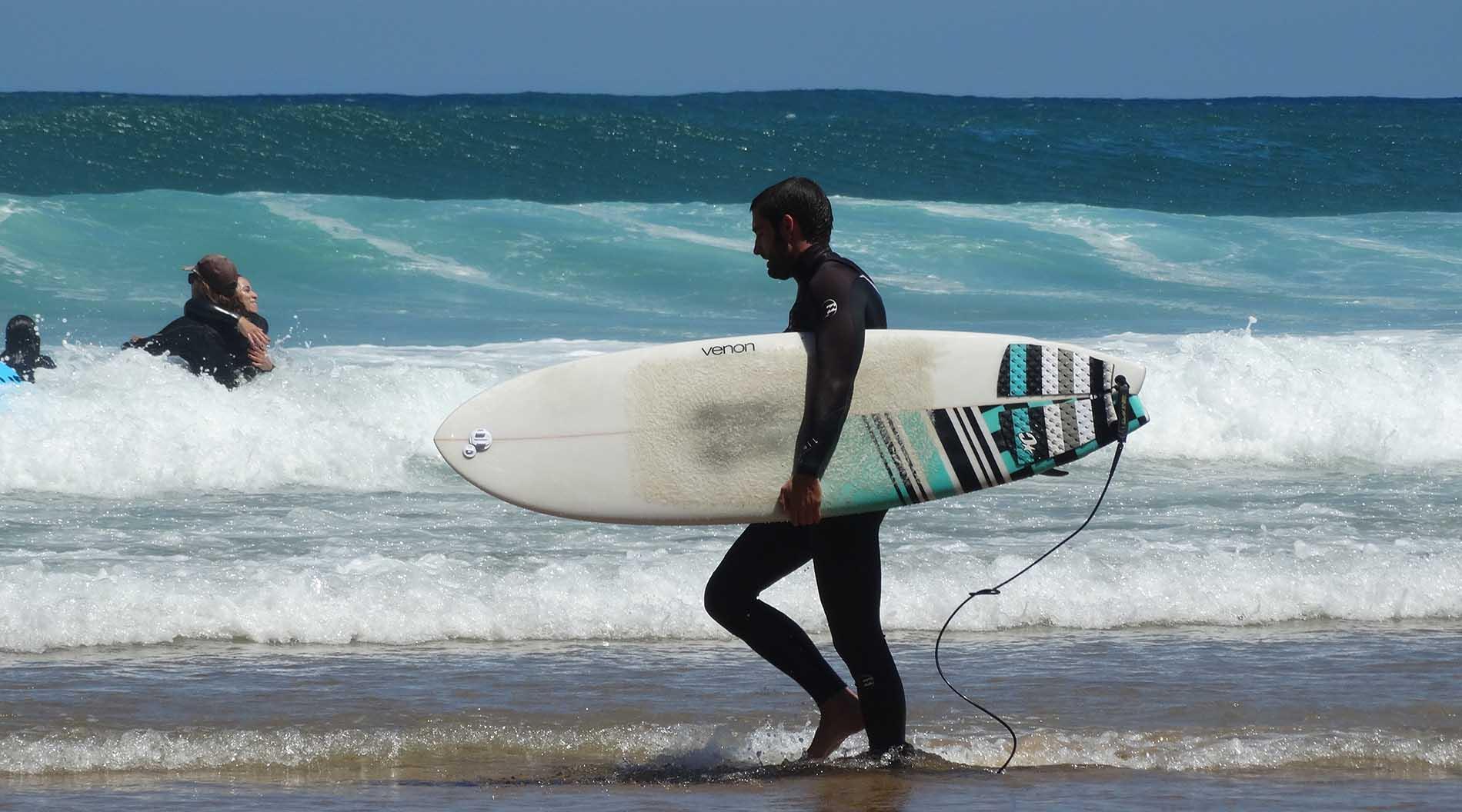 Practica Surf en Somo