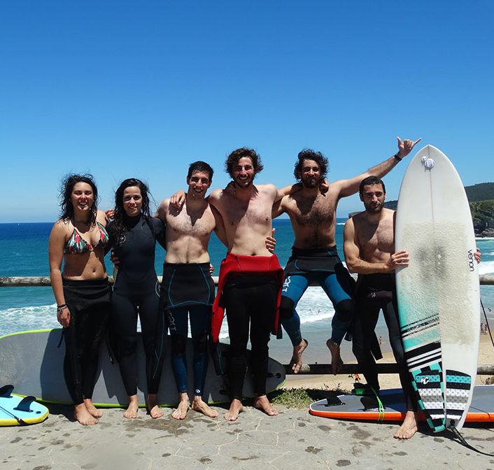 surf para grupos cantabria