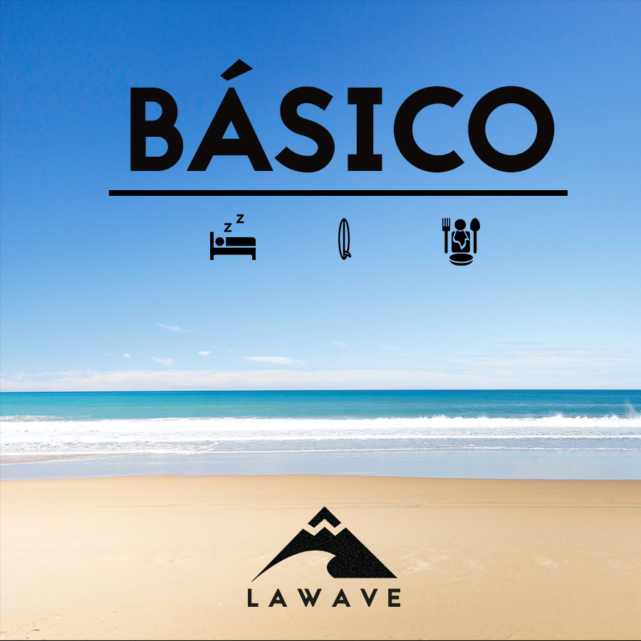 Clases de Surf Inicio SOMO-SURF-HOUSE-PACK-BASICO