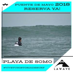 SURF LA WAVE SURF SCHOOL PUENTE 1 DE MAYO