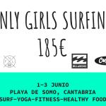 Escuela de Surf para chicas en Somo, Cantabria