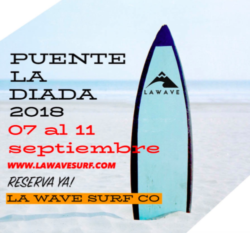 Oferta Surf Puente Diada LA WAVE SURF. SURFHOUSE SOMO
