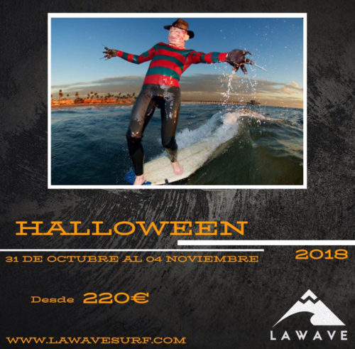 HALLOWEEN SURF CAMP Cantabria Oferta Surf
