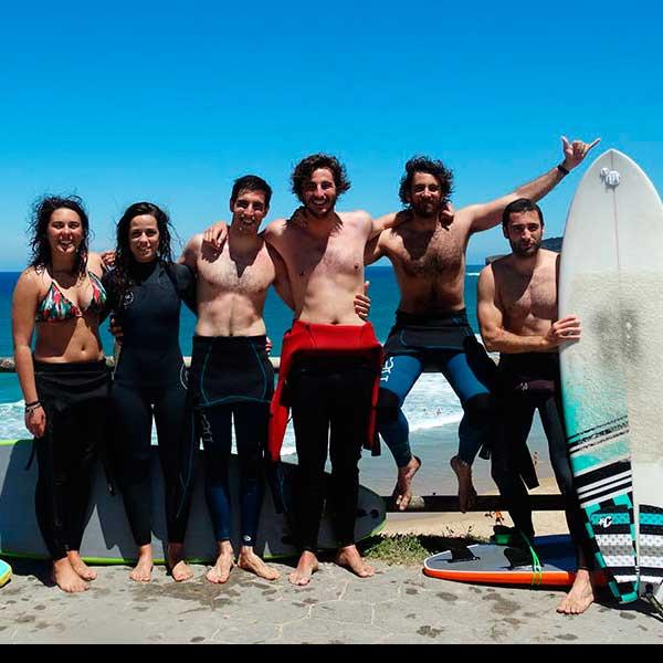 Surf para grupos