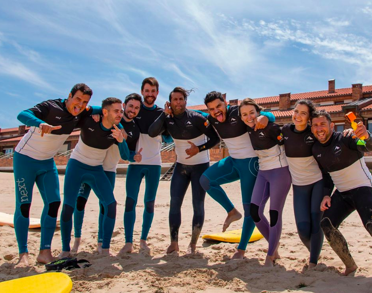 escuela de surf en Cantabria, La Wave Surf Co