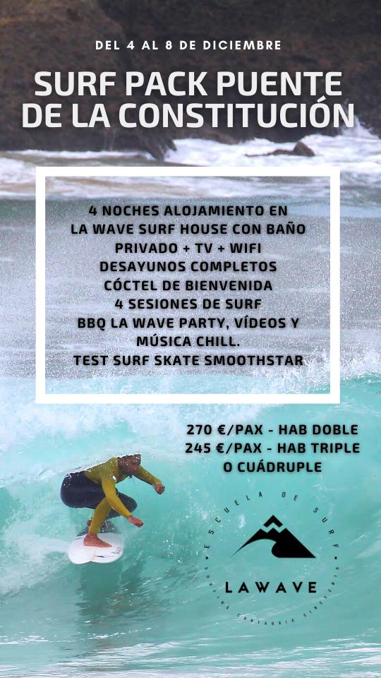 Puente de la Constitución en La Wave Surf Co